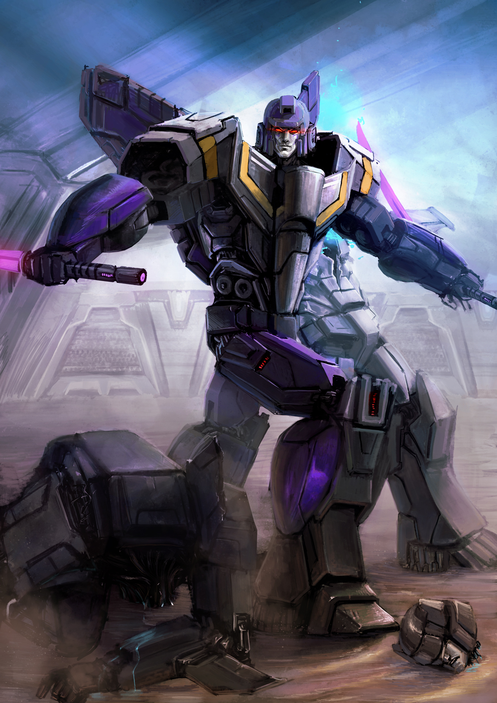 KTE: Astrotrain's Gladiator Past by Naihaan on DeviantArt