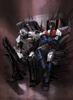 KTE: Tyrant and Traitor (Megatron vs Starscream)
