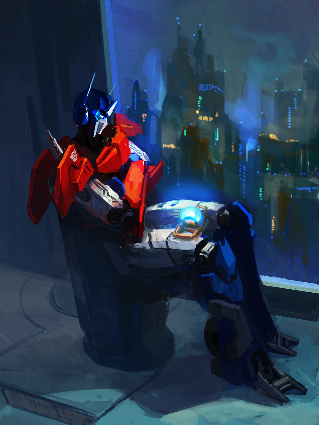 KTE: Optimus and the Matrix by Naihaan
