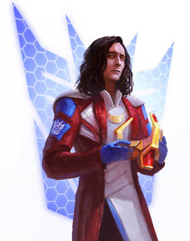 Human Starscream (if Loki were in TF Universe)