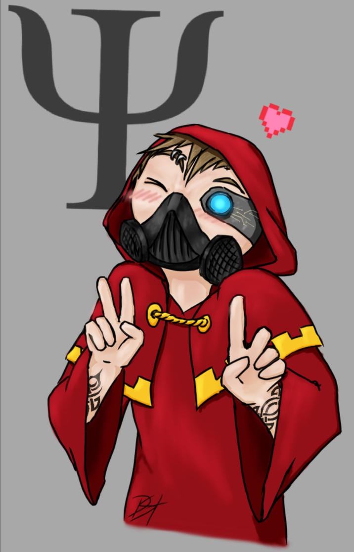 Hack Psi (Hacksy) the adorable Tech-priest by Rimfrost2