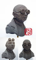 Professor Farnsworth Sculpture