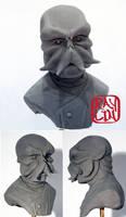 Dr Zoidberg Sculpture