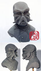 Dr Zoidberg Sculpture by artanis-one