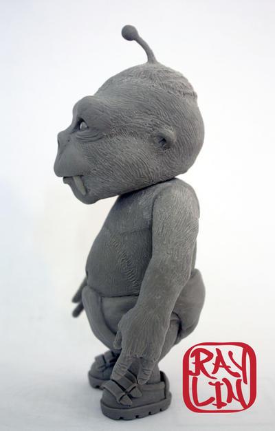 Nibbler Sculpture Profile by artanis-one