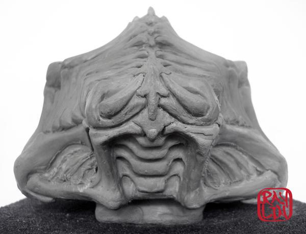Kendo Fencing Bone Mask WIP by artanis-one