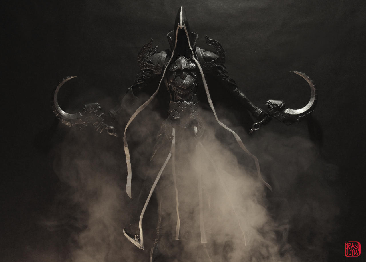 Malthael Sculpture  in Fog by artanis-one