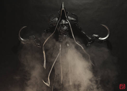 Malthael Sculpture  in Fog