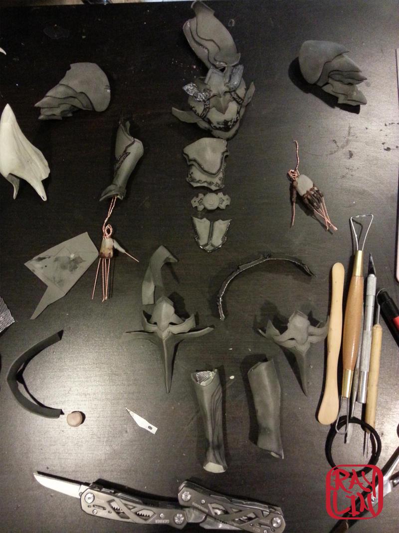 Armor progress