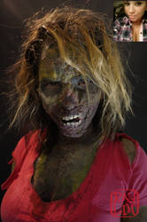 Zombie Girl (Before and After)