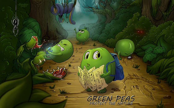 Green Peas protect the nature