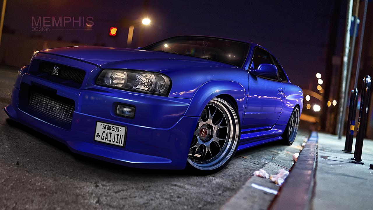 Nissan Skyline R34 by memphisdesign