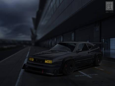 VW Corrado Trackday