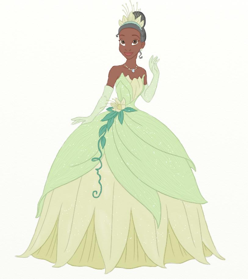 Princess Tiana Art: Princess Tiana By Ifroggirl On DeviantArt