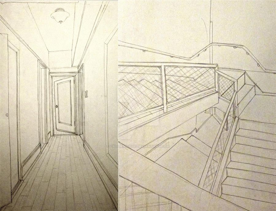 contour line interior space drawings by callienicole on