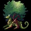 WIP: Tree Dragon by kristhasirah