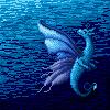 Blue Fairy Dragon by kristhasirah
