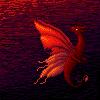 Red Fairy Dragon by kristhasirah