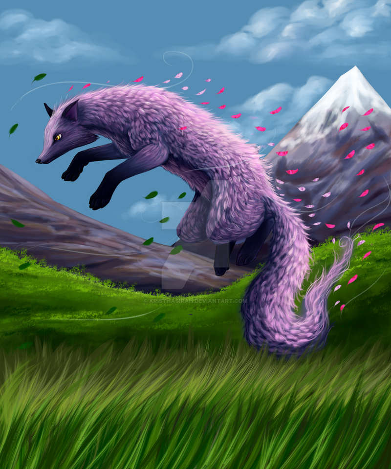 Wind Element fox(new one) by kristhasirah