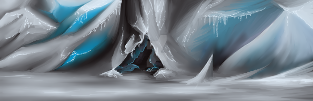 Ice cave by kristhasirah