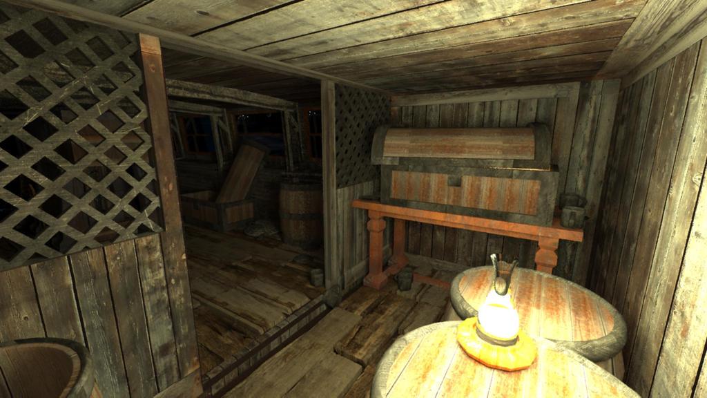Steam Engine Pirate Ship Room - 03 by Whiteair