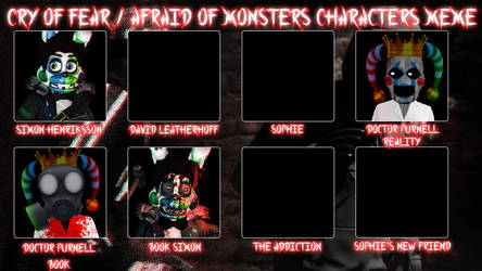 Cry of Fear / Afraid of Monsters Characters Thingy