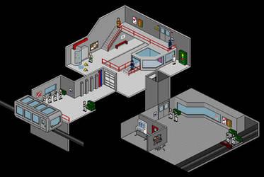 Pixel Half-Life V2 by spad