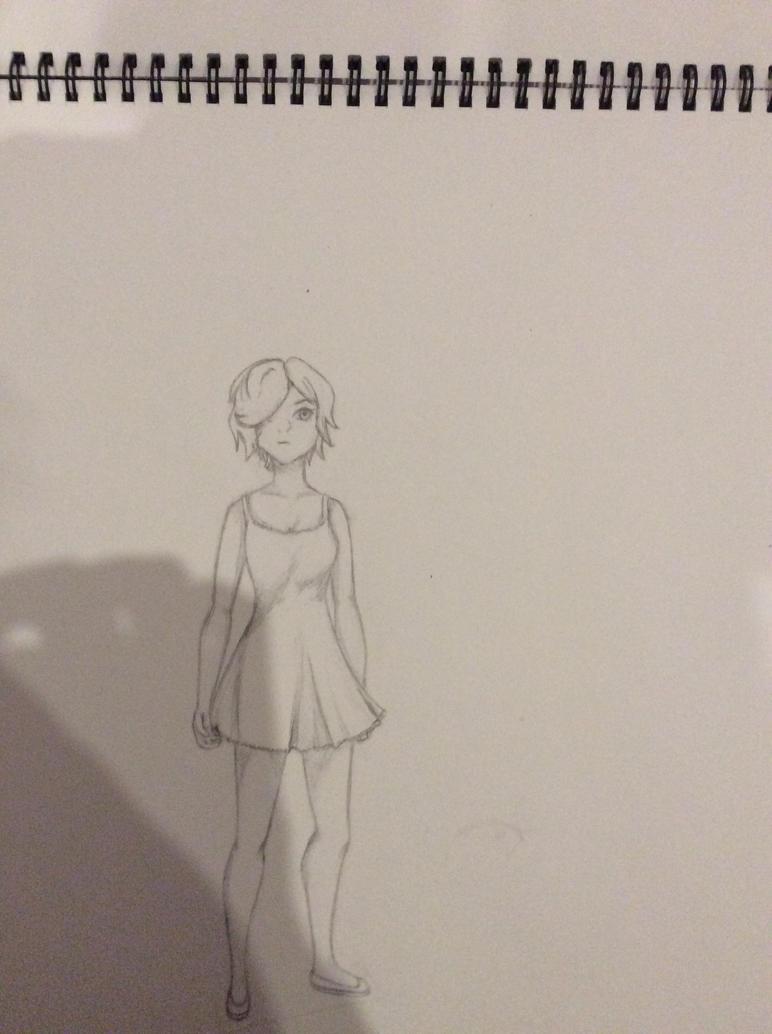 Sketch 1 by MadMaddiey