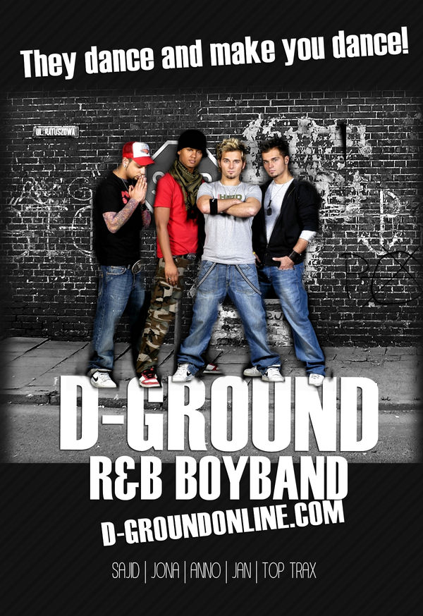 D-Ground Poster Flyer Whatever