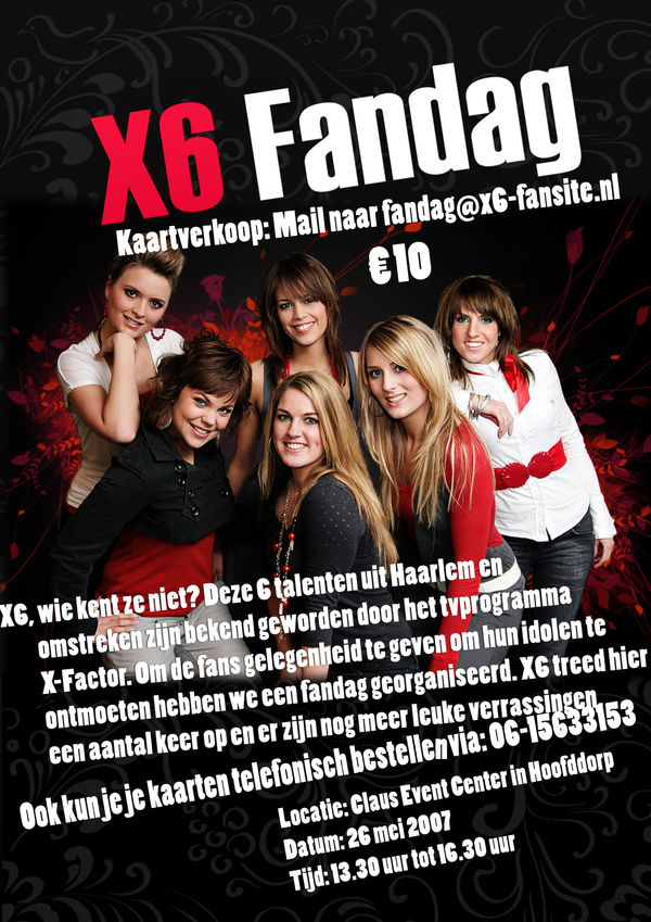 X6 poster 2