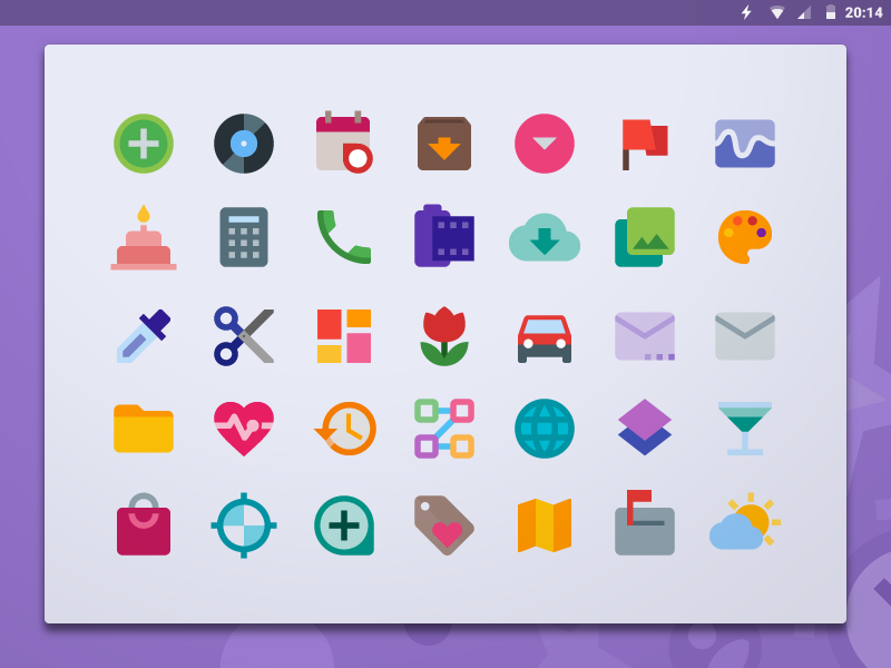 Free Material Design Icon Pack by Iconshock