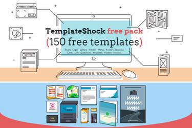 Free Huge Print Templates Pack - TemplateShock.com
