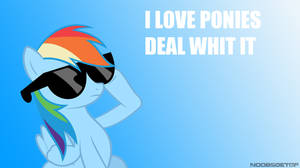 Deal whit it (wallpaper of FB cover)