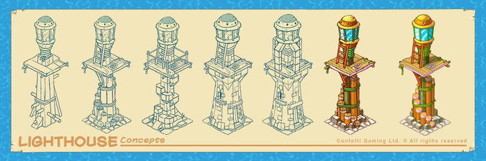 Lighthouse - concept by Lord-Dragon-Phoenix