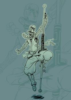Sci Fi Monk