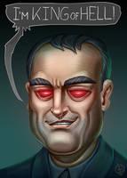 Crowley - Fan art by Lord-Dragon-Phoenix