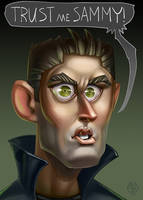 Dean Winchester - Fan art by Lord-Dragon-Phoenix