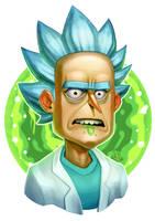 Rick Sanchez - Fan art by Lord-Dragon-Phoenix