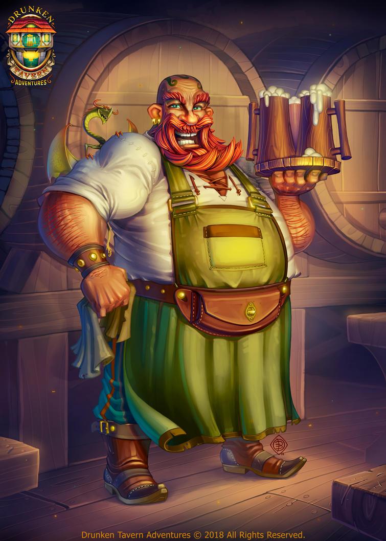 Innkeeper by Lord-Dragon-Phoenix