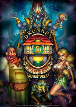 Poster - Drunken Tavern Adventures