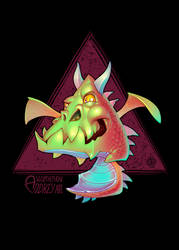 Triangle Dragon by Lord-Dragon-Phoenix
