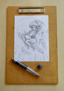 Elf Witch - New Pencil Test