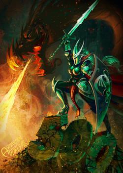 Elf and Dragon - 500