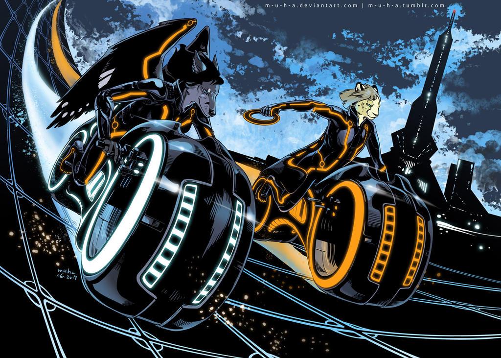 moto race by m-u-h-a
