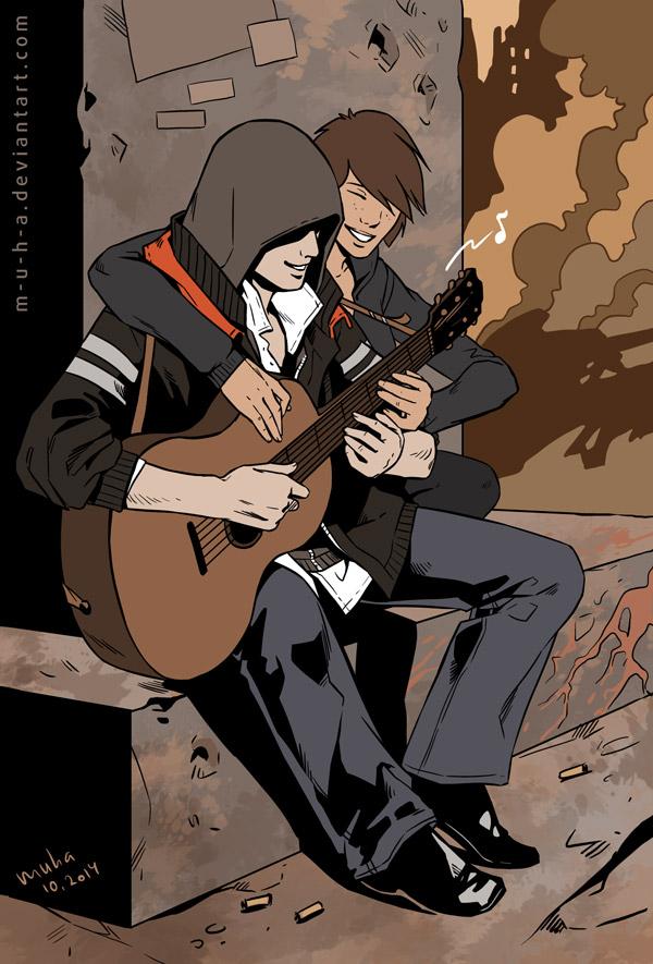 guitar by m-u-h-a