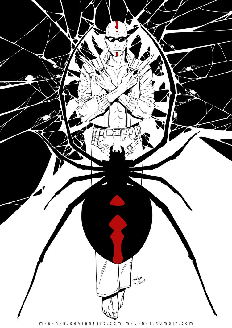 phobia - spider by m-u-h-a