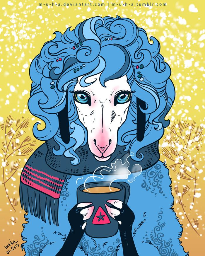 sheep by m-u-h-a
