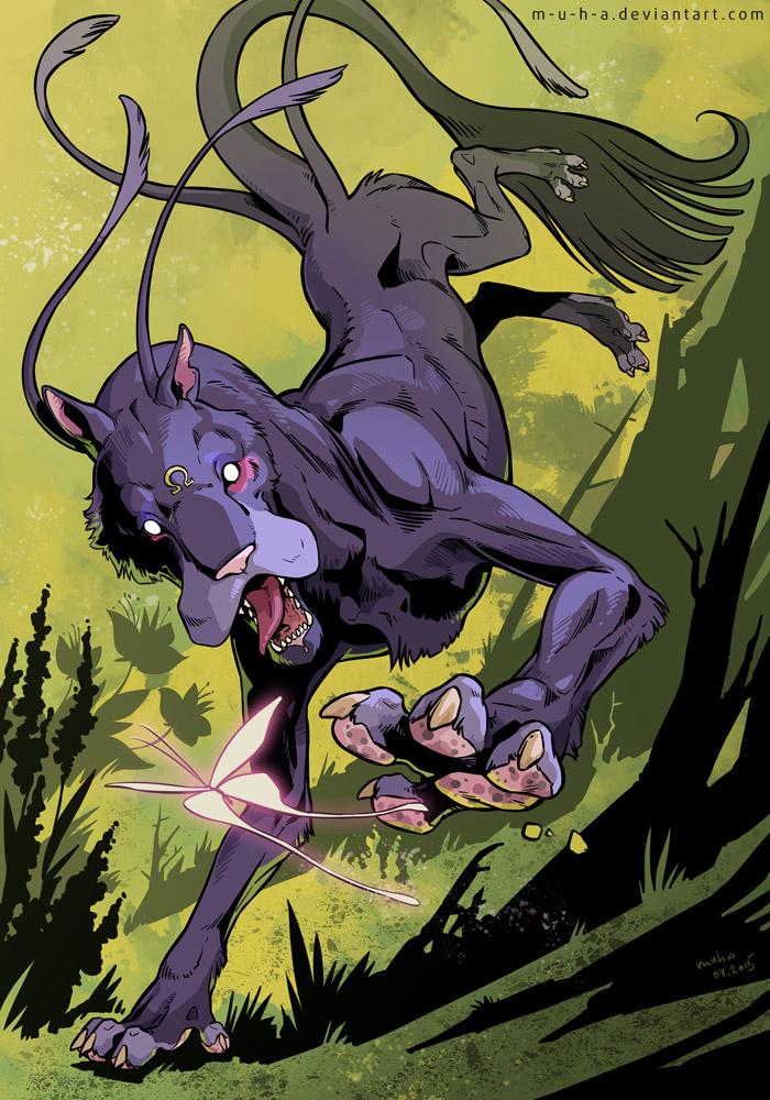 BloodhoundOmega by m-u-h-a