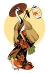 japan birdgirl