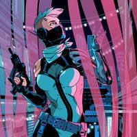 ROBORG CyberCrime 2017 Alternate cover by m-u-h-a